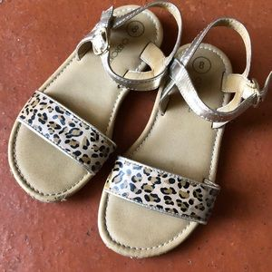 Toddler Leopard Sandals